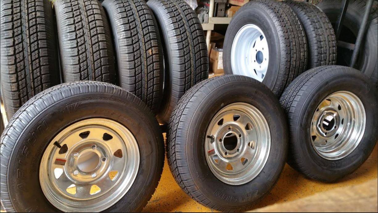 Trailer Tires 13,14,15 inches