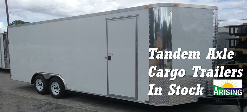 Arising Cargo Trailer - Tandem Axle